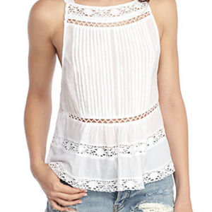 New with tag Free People Constant Crush Top White